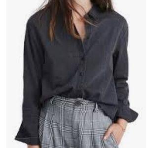 Madewell Ex-Boyfriend Oversized Shirt Lunar Wash